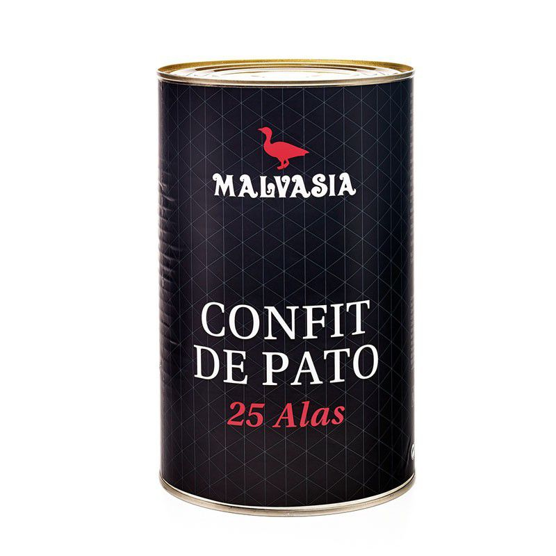 Alitas de Pato Confitadas - Malvasia